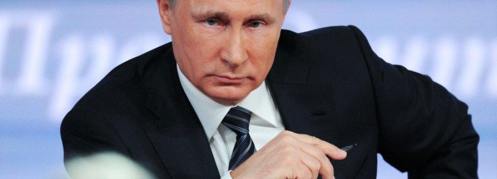 Putin: Economic Crisis Over