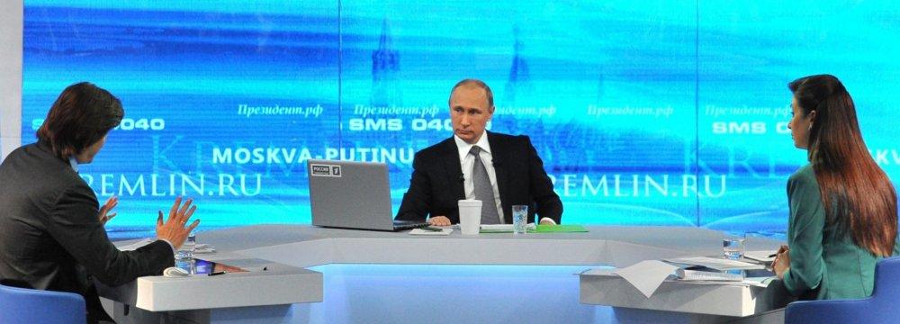 Putin Says 'Worst Is Over'
