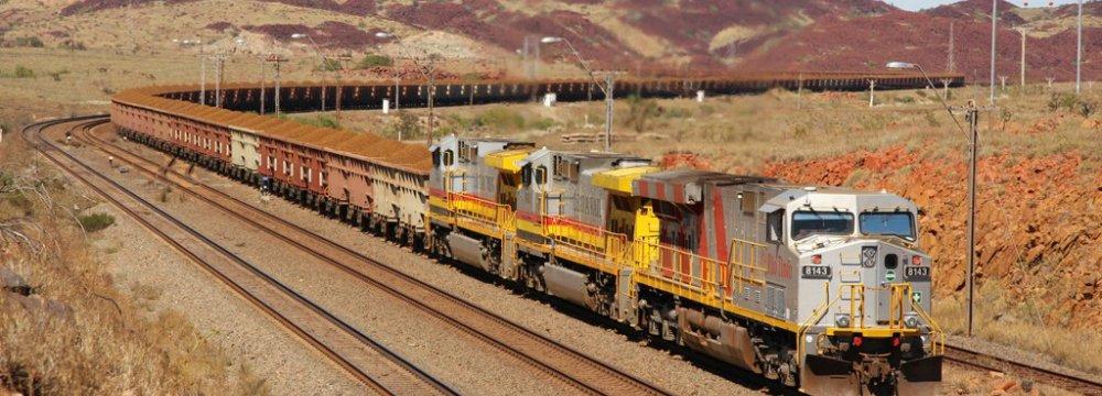 Rio Tinto Iron Ore Shipments Up