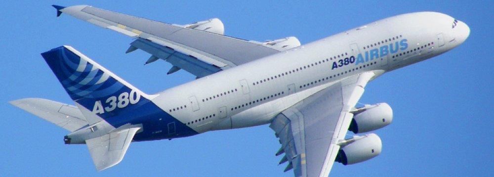 Russian Titanium Parts for Airbus