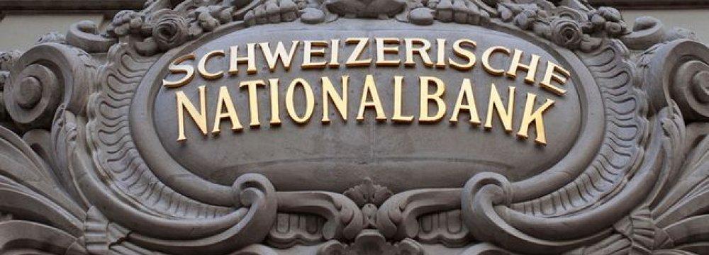 SNB Reserves Rise