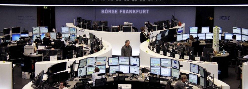 Spanish, Greek Concerns Peg Back European Shares
