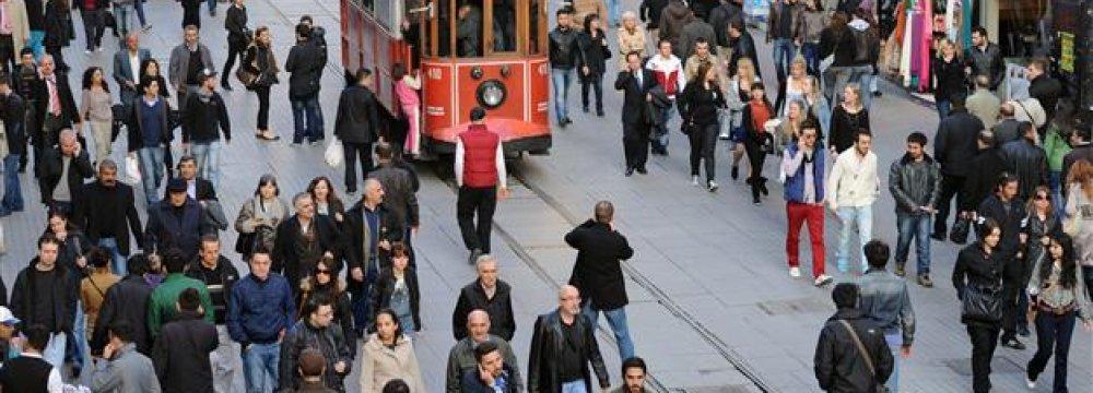 Turkey Jobless Rate Rises