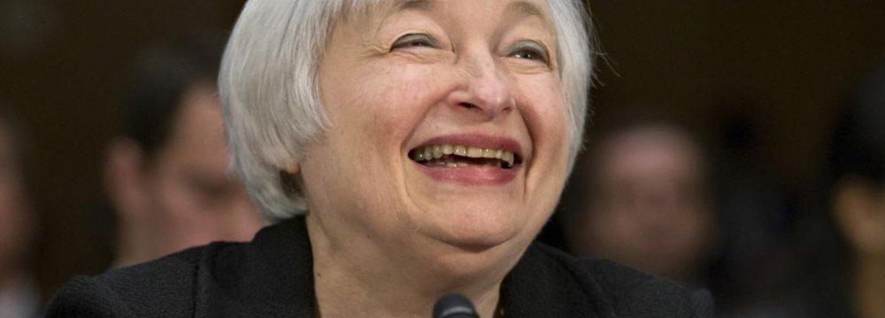 Yellen Implies Gradual Rate Rise