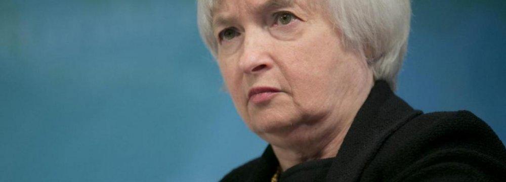 Yellen's Job Gets Tougher