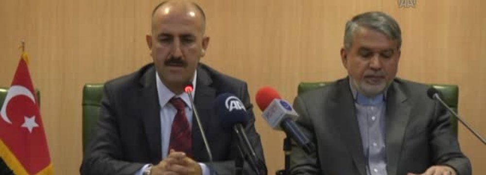 Turkey National Library Head in Iran
