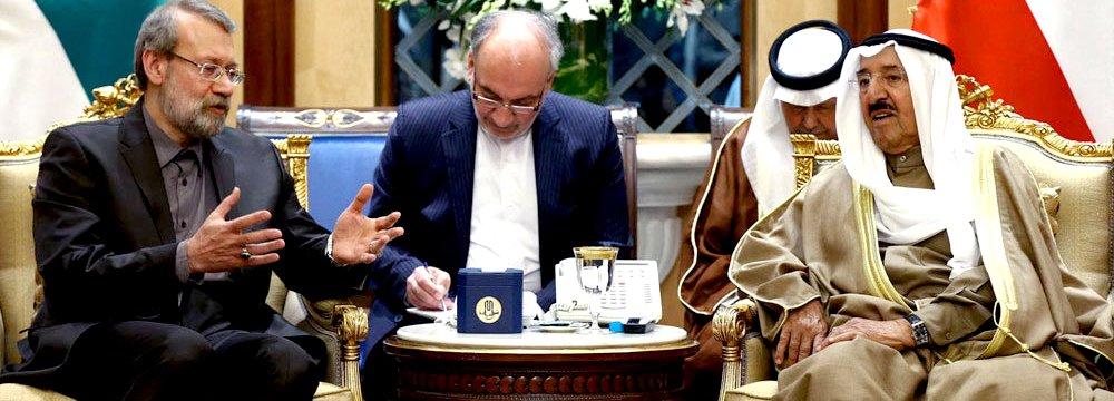 Kuwait Emir, Speaker in  'Constructive' Meeting