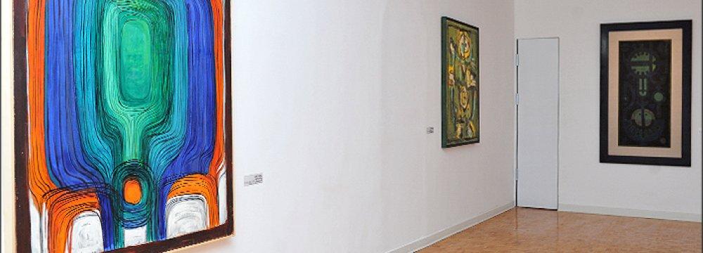 Modern Iranian Art on Display