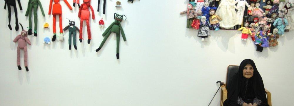 Octogenarian Doll Maker Going Strong
