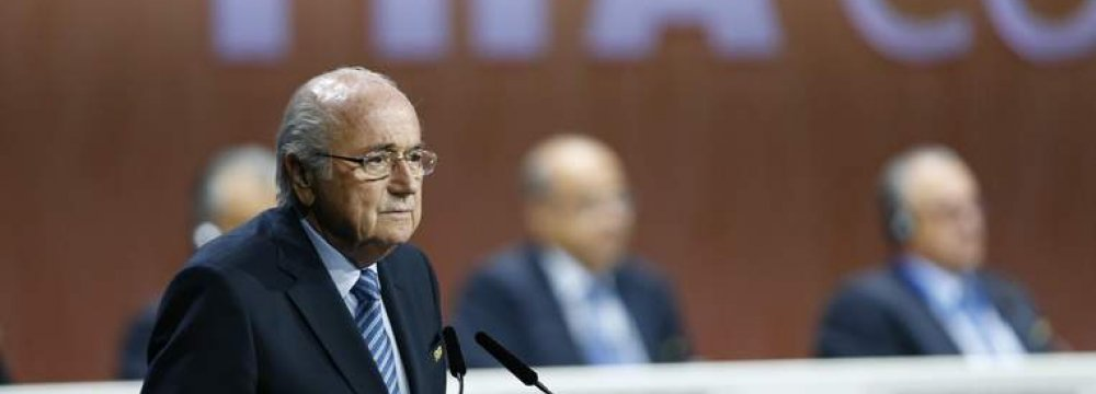 Blatter Under Pressure as Sponsors Cry Foul