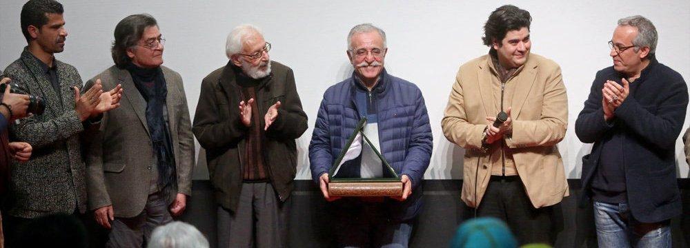 Abdollah Eskandari Honored