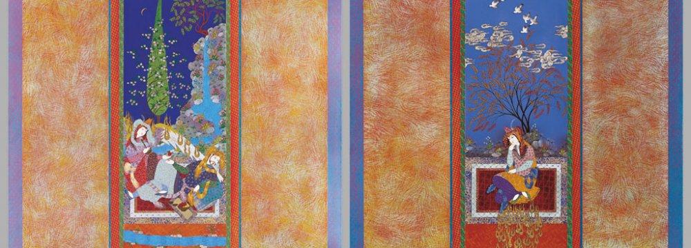 Farah Ossouli to  Showcase Paintings
