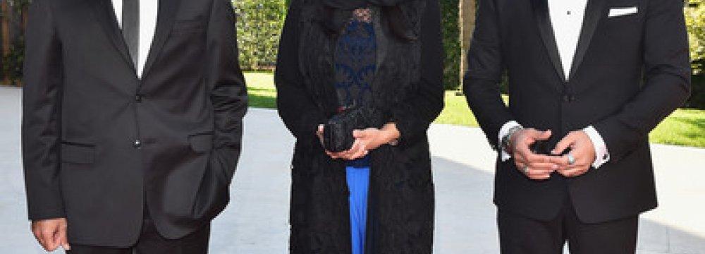 Film Cast Walk Red Carpet at Venice Fest