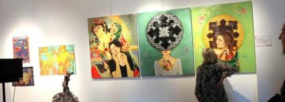 Iranian Artist at Izmir Art Biennale