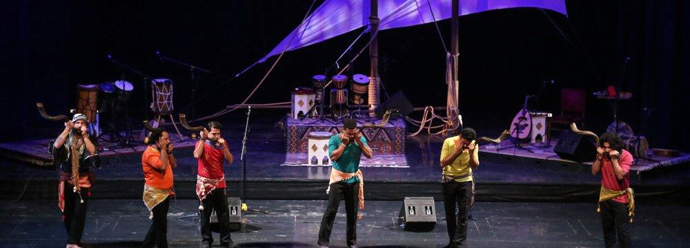 Folklore Bandari Music Captivates Tehranis