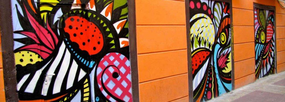 Murals Contest on Tehran School Walls