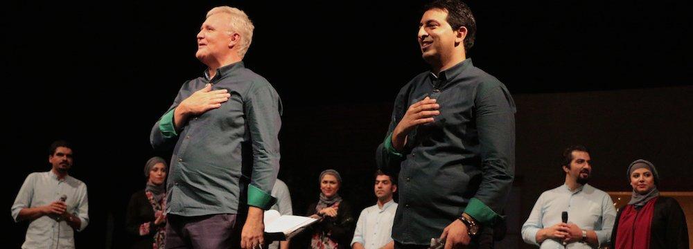 Unique Voice Ensemble  by Iranian, Norwegian Conductors