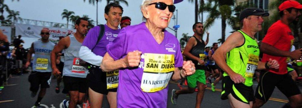Oldest Woman to Finish a Marathon