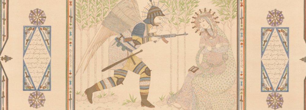 Ossouli Exhibits 'Wounded Virtue'