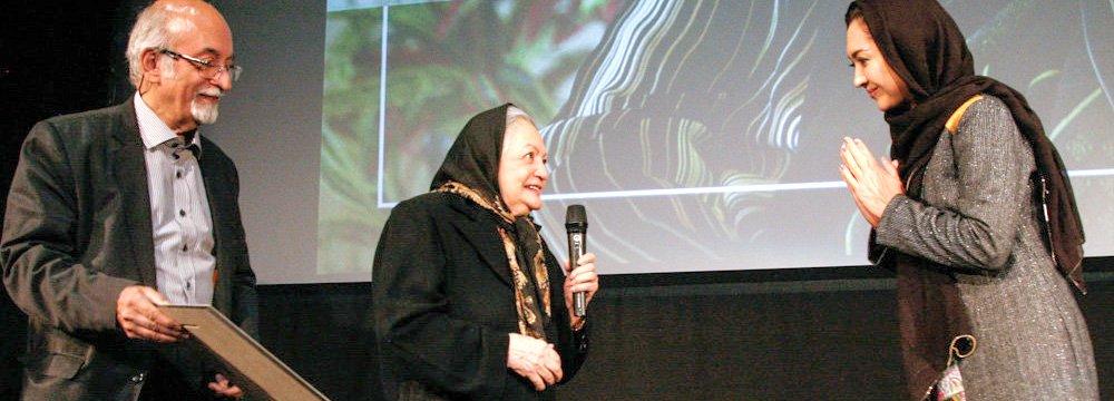Iran's First Female Filmmaker Honored