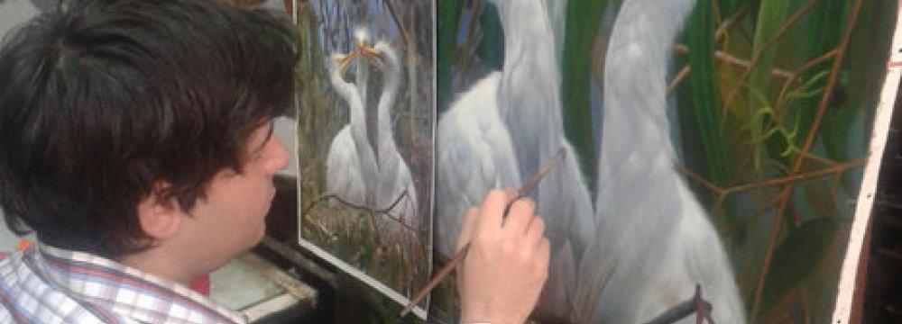 Wildlife Paintings at UNESCO