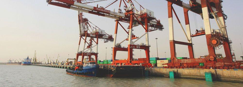 15% Rise in Imam Khomeini Port Operations