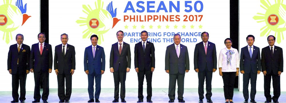 ASEAN Communiqué Stalls Amid Disagreement on S. China Sea Stance