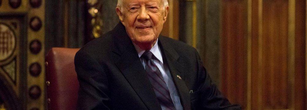 Carter Volunteers to Visit North Korea
