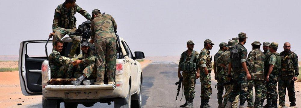 Syria Army Breaks IS Siege on Deir al-Zor