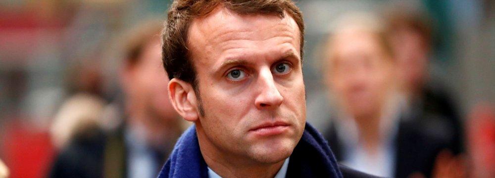 Macron Seeking Mediation Role in Venezuela Crisis