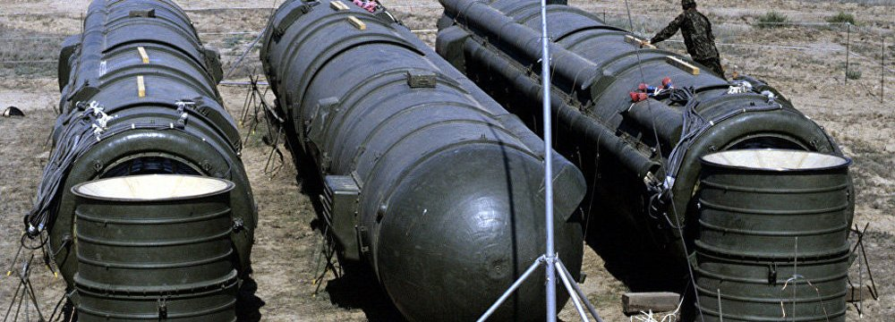 US Push for Scrapping Nuclear Treaty With Russia
