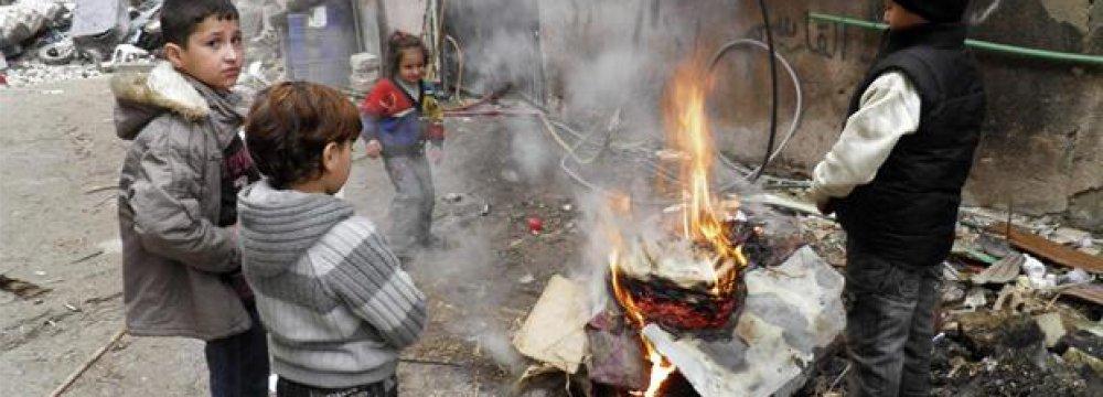 UNICEF: 40,000 Children at Risk in Syria's Raqqa