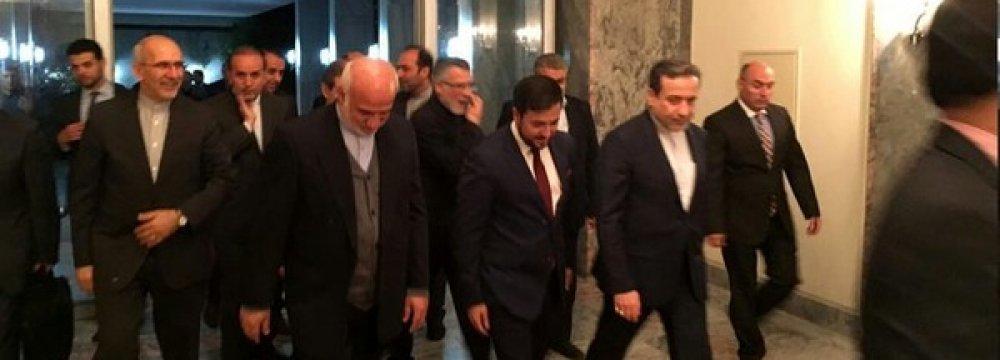 Second Round of Talks on Iran-Afghan Strategic Ties