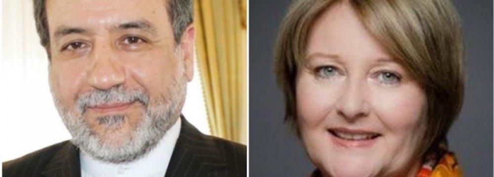 Iranian, German Diplomats Hold Talks in Tehran