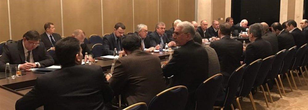 Iran, Russia, Syria Envoys Meet Before Astana Talks