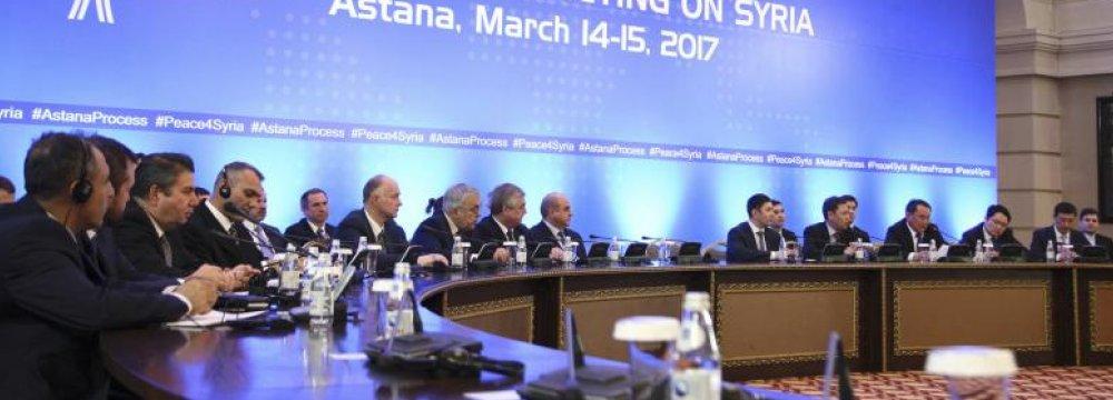 Next Syria Talks on Sept. 14-15
