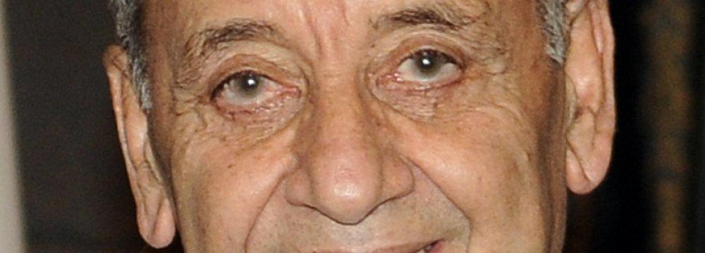 Lebanese Speaker Proposes Iran-Saudi Talks