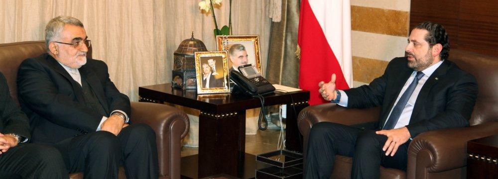 Lebanese Premier Calls for Closer Cooperation