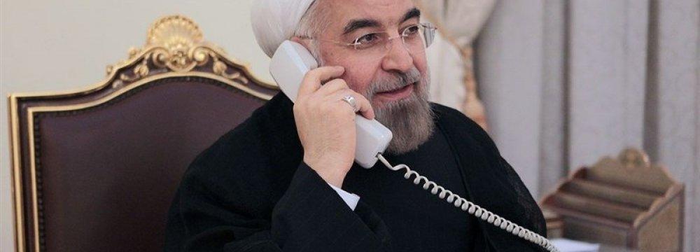 Rouhani, Erdogan Discuss Region, Bilateral Trade