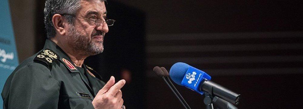 IRGC Chief Discounts  Military Threats Against Iran