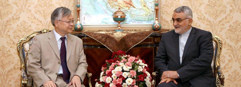 China Envoy Calls for Closer Ties