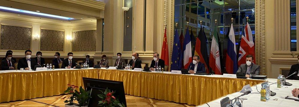 Signatories Agree to Expedite  Process of JCPOA Restoration