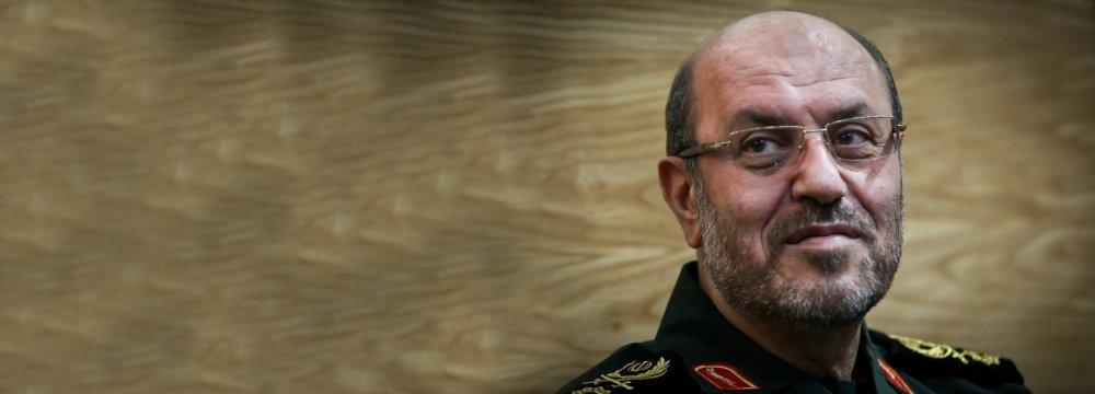 Defense Minister Hossein Dehqan