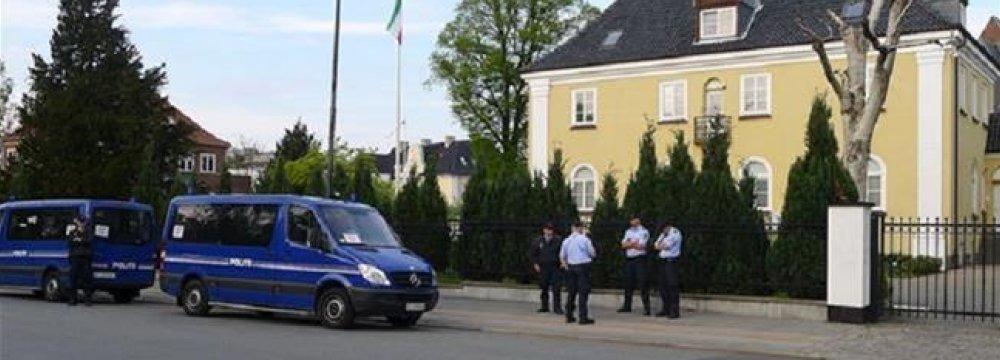 Danish Envoy Summoned Over Embassy Attack
