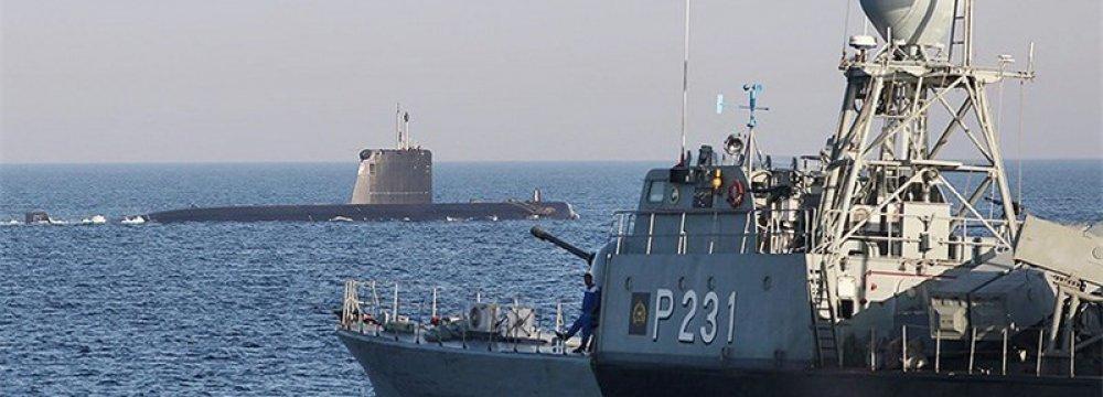 Iran, Oman Stage Naval Drills