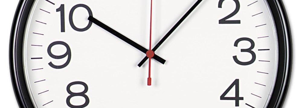 Clocks Turn Back