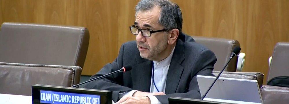 Sanctions Undermine UN Development Goals