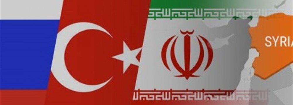 Trio to Meet Regularly on Syria