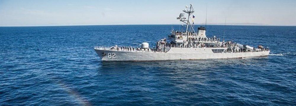 Naval Flotilla Back Home