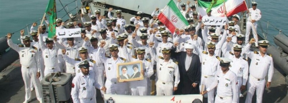 Naval Flotilla Docks at Omani Port